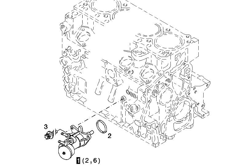 Linde Dz04103661 Deutz Pump