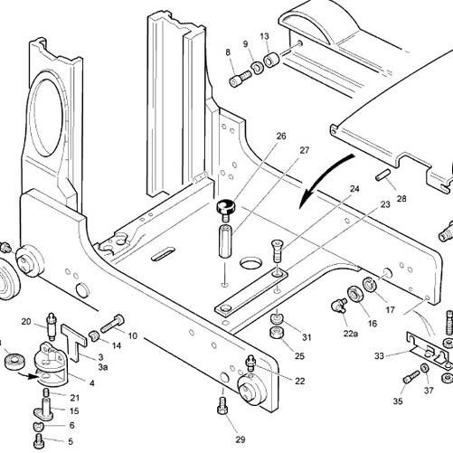 linde 0009246927 mast bearings r 40x105 8x22 - linde bearings parts - products